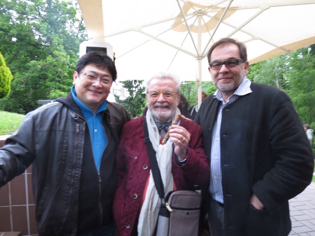 Guoliang Han, James Galway & Ljubisa Jovanovic