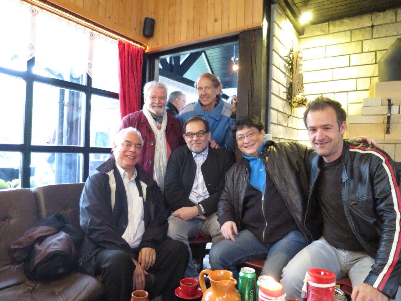 Guoliang Han, James Galway & Ljubisa Jovanovic