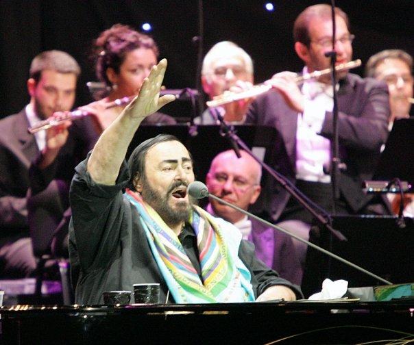 Lucianno Pavarotti & Ljubisa Jovanovic